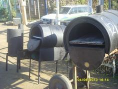 Hornos de Barro, Parrillas.