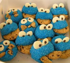 Cute and easy for a Sesame Street or Monster party.   :-)
