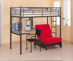 bedroom bunks twin workstation loft bed item adult loft beds for the with cream floor and
