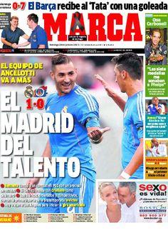 'El Madrid del talento' | La portada del 28 de julio de 2013