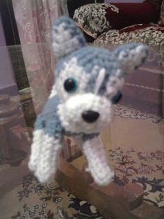 Husky-Pup (Amigurumi No.19)