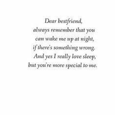 You more...