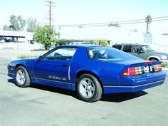 camaro iroc-z blue - Google Search