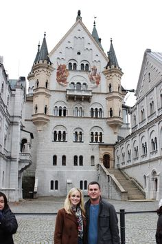 Adventures — A BEAUTIFUL ELSEWHERE | Neuschwanstein Castle is a nineteenth-century palace on a hill above the village of Hohenschwangau, near Fussen in southwest Bavaria, Germany