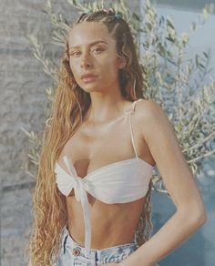 Camila Gallardo, Super Long Hair, Bikinis, Swimwear, Long Hair Styles, Celebrities, Women, Twitter, Fashion