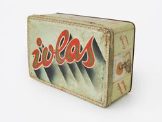 Iolas - from Louise Fili's Collection of Italian Tins