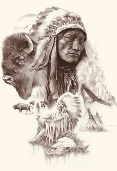 Native American Drawing, Native American Wolf, Native American Artwork, Tigh Tattoo, Native Tattoos, Angel Pictures, Indiana Jones, Picture Design, Coloring Books
