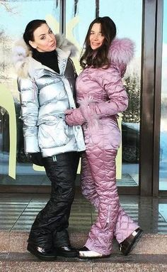 Ski Outfits, Warm Outfits, Winter Outfits, Down Suit, Winter Suit, Moon Boots, Sleeping Bags, Parka, Cool Style