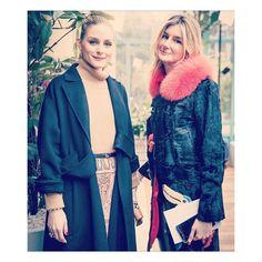 "1,047 Likes, 1 Comments - deCarlis (@decarlisfurs) on Instagram: ""Stunning @mvcusumano wearing deCarlis furs at #pfw2017 with @oliviapalermo ❤️#decarlis #furs #paris…"""