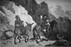 Turkestan -Famille indigène en voyage, janvier 1879