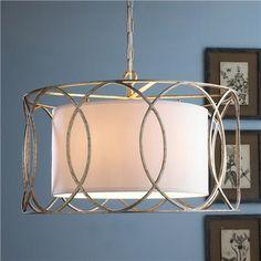 Drum Shade Circlet Lantern- kitchen table