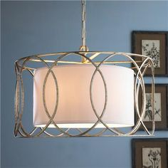 Drum Shade Circlet Lantern- kitchen table