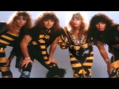Stryper's Michael Sweet Talks About Their Music Videos, Christian Metal, Going Toe To Toe with Bon Jovi on the Charts, and Those Darn Outfits - Golden Age of Music Video Christian Metal, Christian Rock Bands, Christian Singers, 80s Rock Bands, 80s Hair Bands, Cool Bands, Rock N Roll, E Street Band, Glam Metal