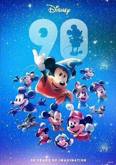 Disney and more: limited-time celebrations for mickey mouse anniversary in all disney parks Disney Kunst, Arte Disney, Disney Art, Disney Pixar, Mickey Mouse Wallpaper, Disney Wallpaper, Disney And More, Disney Love, Disney Stuff