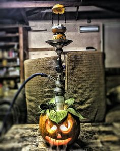 Happy Hookah Halloween!!  Gruelsome design from @serob_darbinyan   Have it with MISHA on top from MISHASHISHA.COM   #Shisha #hookah #شيشا #кальян #narghile #luxury #gourmet #UltimateFlavor #cachimba #chicha