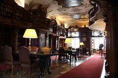 Schloss Leopoldskron - The Library