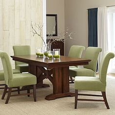 Lugano Dining Table from World Market.  Just need my awesome Husband to build this with a feature added - leaf insert to that it can hold more than 6!