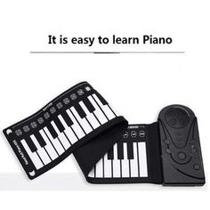 Regardless of your age or skill level, this roll-up piano makes for a great gift idea. Shop Hand roll portable piano only on Exalt club.