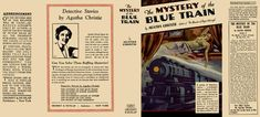 Mystery of the Blue Train, The. Agatha Christie.