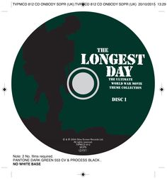 The Longest Day CD onbody. Client: Silva Screen Records. Circa 2004. © Sean Mowle.