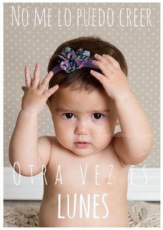 ¡No me lo puedo creer! ... Otra vez Lunes Fotografía especializada en niños http://fotobbreportajes.es