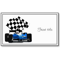 Free Printable Borders Checkered Flag #15 of 20