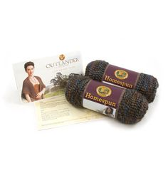 Outlander Garment Crochet Kit-Arrival at Lallybroch Shawl