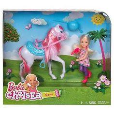 Barbie Chelsea Doll & Pony Playset