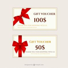 Beautiful retro discount coupons for restaurant free vector gift vouchers pack free vector yelopaper Choice Image