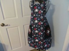 Stars and Stripes adorn this Reversable by KaTerryTheSewSisters, $27.00