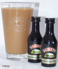 Mini Baileys! Want!! Mini Baileys, Beer Bottle, Clock, Drinks, Grocery Lists, Watch, Drinking, Beverages, Beer Bottles