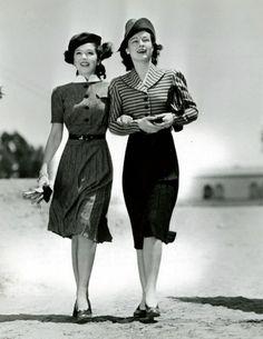 Ann Rutherford &Ruth Hussey, publicity shot forHer Favorite Patient(1945)    -viarosedarling