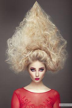 Profesjonalny fotograf – Warszawa Creative Hairstyles, Unique Hairstyles, Up Hairstyles, Natural Hairstyles, Competition Hair, Wacky Hair, Avantgarde, Avant Garde Hair, Crazy Hair Days