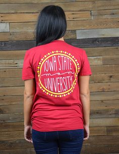 Hey ISU Mom! Show your love and support for your Cyclone in this new Iowa State Mom t-shirt! Go Cyclones!