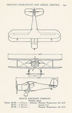 Airplane Diagram Aviation Print Vintage by VintageButtercup, $10.00