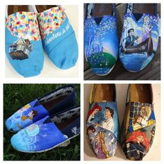 Disney Toms. These need to start being produced by Toms instead of hand painted!