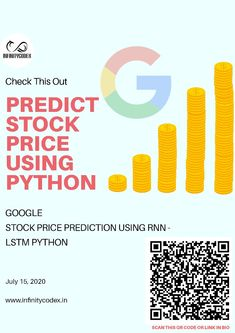 Stock price prediction using rnn  By : www.infinitycodex.in  #pythonsofig #datavisualizations #dataanalysts #data #datasciencejob #datascience #machinelearning #deeplearning #stats #statistics #pvalue #question #answeredprayer #interviews #AI #artificalneuralnetwork #Artificialintelligence #neuroscience #neuralnetworks #scientist #programmer #programming #coder #coding #missyou P Value, Deep Learning, Data Science, Neuroscience, Machine Learning, Statistics, Programming, Coding
