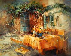 Willem Haenraets ~ The Idyllic Garden