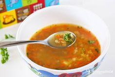 Hustá polievka z červenej šošovice - recept pre deti   mozessavydavat.sk Ethnic Recipes, Food, Meal, Eten, Meals