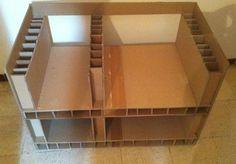 un meuble avec la methode en boitage, emboitage ou embourdage
