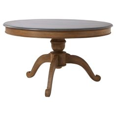 Karlstad Dining Table, Round - Mango Wood #OKA #Furniture #Design