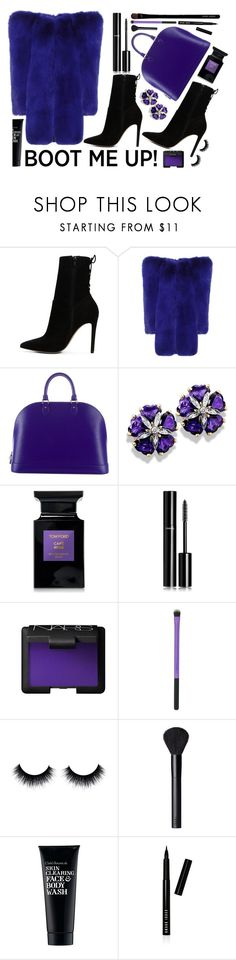 """""""boot  me up"""" by sandevapetq ❤ liked on Polyvore featuring ALDO, Yves Saint Laurent, Louis Vuitton, Tom Ford, Chanel, NARS Cosmetics, Clark's Botanicals, Bobbi Brown Cosmetics and Giorgio Armani"""