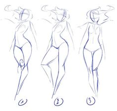 Poses by rika-dono on deviantART