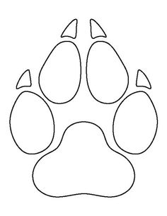 Great Use The Printable Outline For Crafts, Creating Stencilsu2026