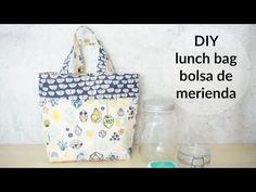 Bolso de restos de tela:diy - YouTube