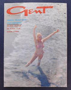 GENT Magazine / August 1963 / 1960's Vintage Men's Magazine / Playboy Magazine / Woody Allen / Hawaiian Holiday / Folk Music / M. Zolotow #PlayboyMagazine #GentMagazine #VintageMagazine #MadMenStyle #GirlieMagazine