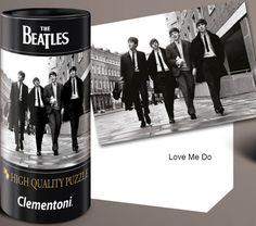 Puzzle Clementoni The Beatles, Love Me Do,  de 500 Piezas.