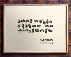 ALFABETO by beauchamping on Etsy