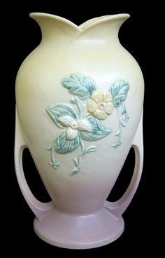 Hull Pottery Wildflower Large Floor Vase