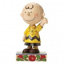 Jim Shore Good Man Charlie Brown - Charlie Brown Figurine (Peanuts Collection)